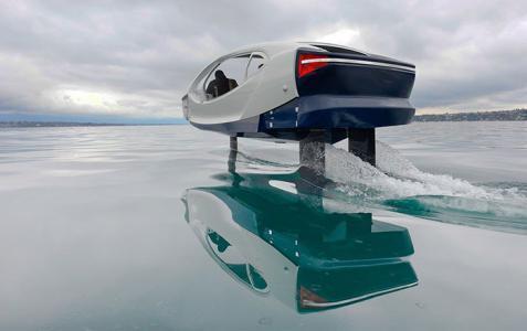"""المستقبل هو لسيارات الأجرة التي """"تسير على الماء"""""""