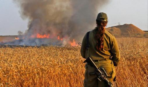 لماذا لم يرد الجيش الإسرائيلي على البالونات الحارقة؟