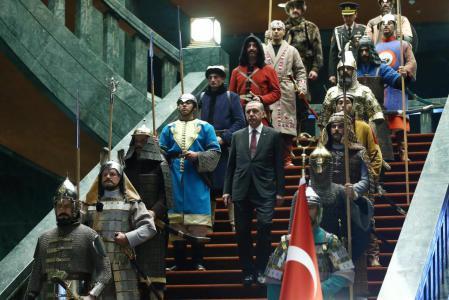 الرئيس التركي ينشر تفاصيل النظام الرئاسي الجديد