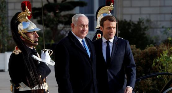نتنياهو يضغط على ماكرون لتشكيل محور مشترك ضد إيران