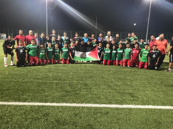 منتخب أكاديمية المحترفين يفوز على نادي الوحدات الأردني