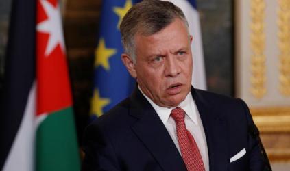 العاهل الأردني يدعو لإعادة إطلاق مفاوضات جادة
