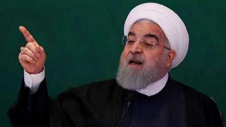 """روحاني يتوعد بـ""""تركيع"""" الولايات المتحدة"""