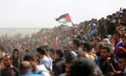 جيش الاحتلال يدافع عن قتل المتظاهرين بغزة امام البرلمان الفرنسي