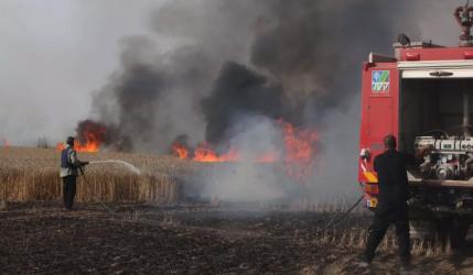 مسؤول إسرائيلي: نحتاج 20 سنة للتعافي من حرائق الطائرات الورقية