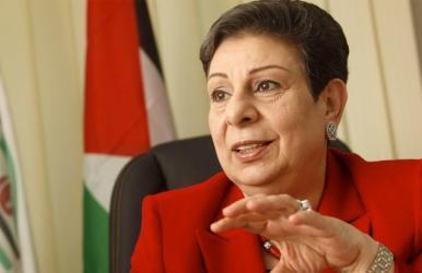 عشراوي تكشف عن أكبر مخطط يحاك للضفة وغزة