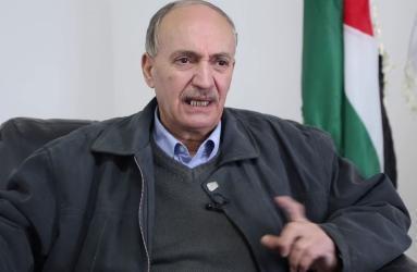 واصل أبو يوسف: المخطط الاميركي الإسرائيلي لن يمر