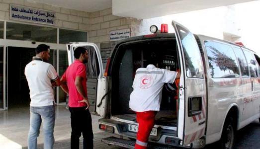إصابة خطيرة لشاب أحرق نفسه في غزة