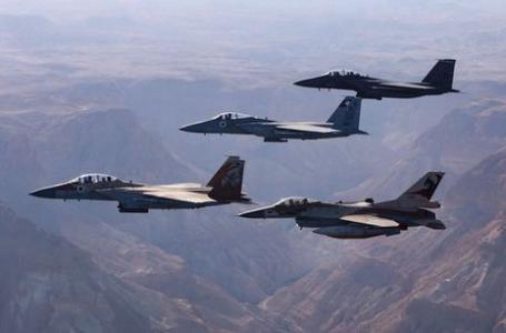 جيش الاحتلال تدرب على ضرب غزة بواسطة مئات الطائرات