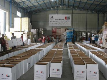 لطلب المساعدة من خلال الرابط.. فتا ومؤسسة خليفة يطلقان حملة توزيع طرود غذائية في قطاع غزة