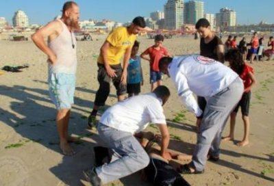 العثور على جثة شاب غرق قبالة بحر خانيونس