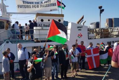 أسطول الحرية 4 يبحر اتجاه غزة ومحاولات لتأمين الحماية الدولية