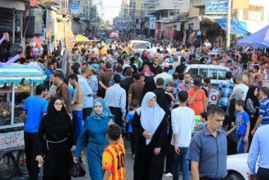 عدد سكان الضفة وغزة وصل 4.78 مليون نسمة