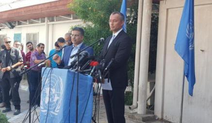 ميلادينوف: أمس كنا على حافة الحرب في غزة