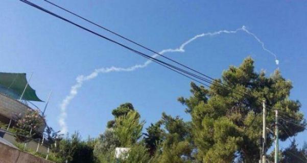 صافرات انذار وصواريخ باتريوت شمال فلسطين المحتلة