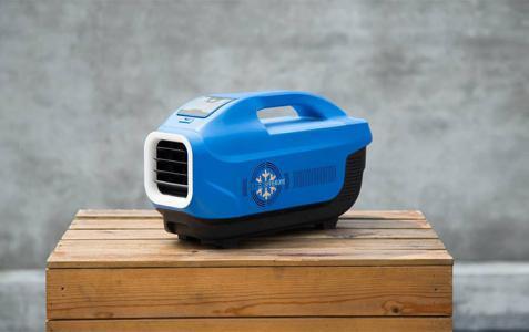 جهاز ثوري متعدد الاستخدامات.. مكيف وشاحن ومكبر صوت!