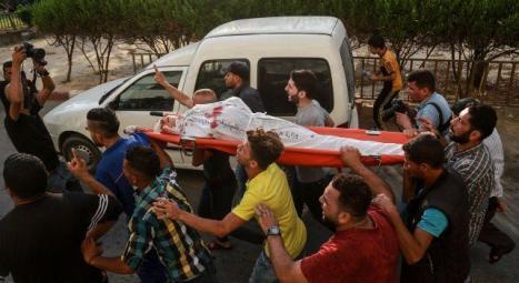 غزة تشيع الطفلين النمرة والحكيل