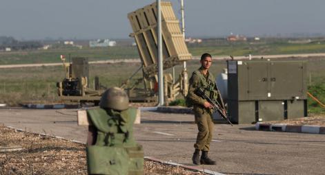 الاحتلال ينشر المزيد من بطاريات القبة الحديدية في محيط غزة
