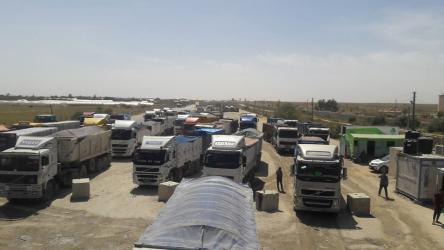 فتوح يكشف آلية عمل معبر كرم أبو سالم عقب قرارت الاحتلال