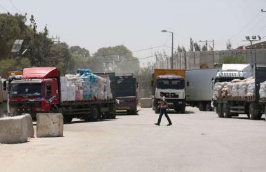 قرار إسرائيلي جديد بمنع إدخال معظم السلع الى غزة