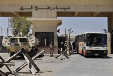 السلطات المصرية تقرر إغلاق معبر رفح غدا الاثنين