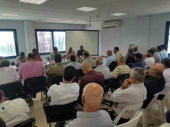 اتحاد المقاولين يدعو لمقاطعة مكتب تسويق الأنترلوك وحجر الجبهة بغزة