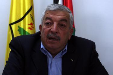 العالول: القيادة لن تسمح بالمساس بأهلنا في قطاع غزة