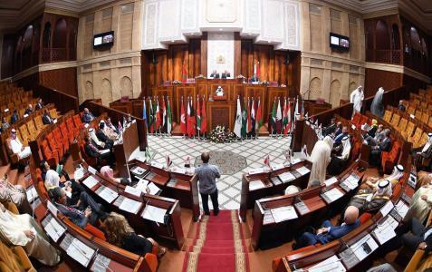 البرلمانات العربية تطالب بإطار دولي جديد لرعاية عملية السلام في الشرق الأوسط