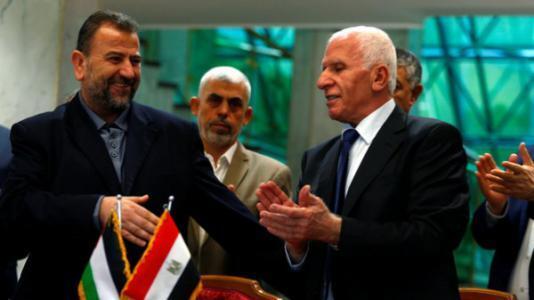 وفد حماس في القاهرة الأربعاء لبحث المصالحة وسبل رفع الحصار