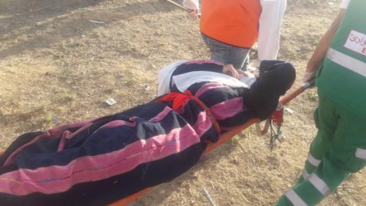 إصابات في قمع فعالية نسوية على حدود غزة