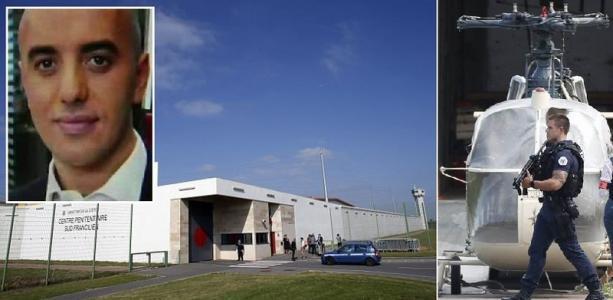 ليست فيلمًا سينمائيًا.. شاهد عملية فرار أخطر سجين فرنسي بمروحية