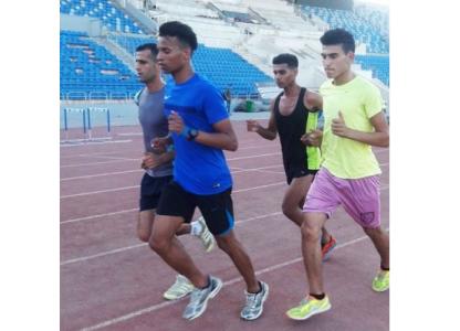 بعثة فلسطين لالعاب القوى تصل عمان للمشاركة ببطولة غرب اسيا