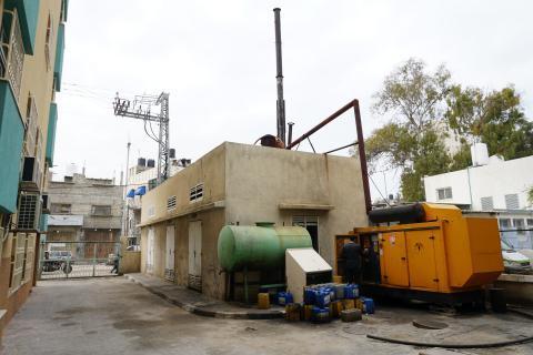 مسؤول أممي يحذر من شح الوقود في منشآت صحة غزة