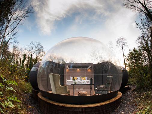 اختبر الحياة في شمال أيرلندا داخل قباب Finn Lough الفقاعية (صور)