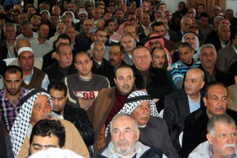 اتفاق صادر عن عائلتي شاهين وآل غانم في الخليل