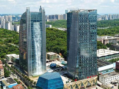 الصين تبني أطول شلال اصطناعي في العالم.. إليك التفاصيل