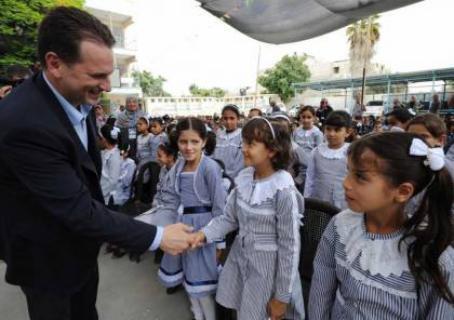 افتتاح العام الدراسي الجديد في محافظات الوطن