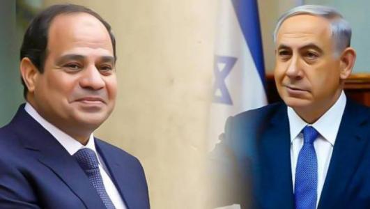 السيسي ونتنياهو التقيا سرا بشأن غزة