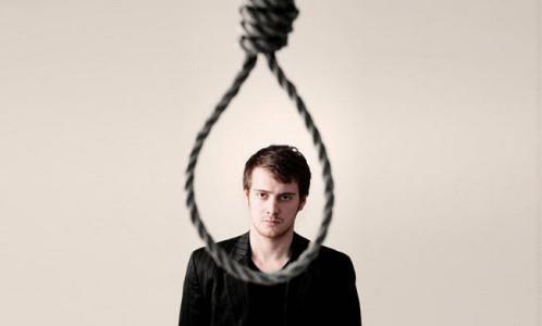 شاب يهدد بالانتحار على الهواء مباشرة