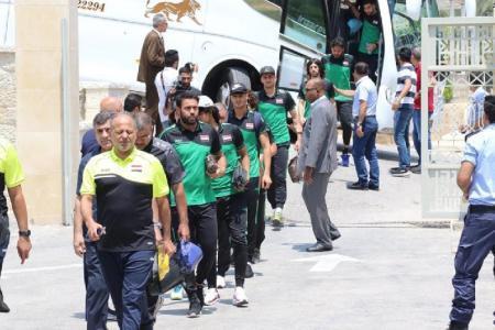 البعثة العراقية: جئنا لرام الله لدعم الرياضة ودولة فلسطين