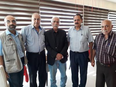 الشخصيات المستقلة تجتمع بالوزير ابو النجا محافظ غزة