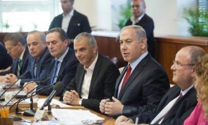 """وزراء بـ """"الكابينيت"""" الإسرائيلي يضعون شروطا جديدة للموافقة على التهدئة مع غزة"""