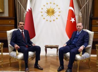 أردوغان يغرّد بالعربية عن زيارة تميم والدعم القطري
