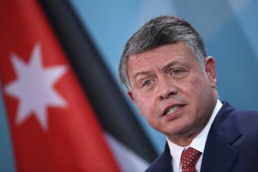 العاهل الأردني: موقفنا من القضية الفلسطينية لايتغير أبدا