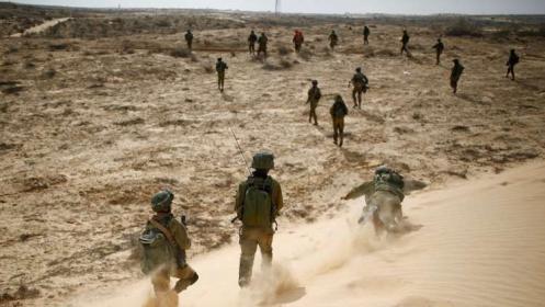 """جيش االاحتلال يجري اليوم تدريبات عسكرية بـ""""غلاف غزة"""""""