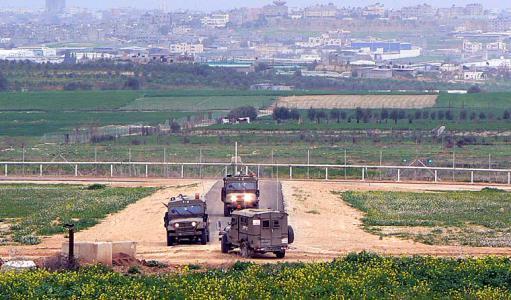 الاحتلال يطلق النار على الاراضي الزراعية شرق المغازي