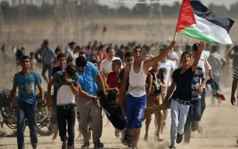 استشهاد طفل متأثرا بجراح اصيب بها امس في غزة