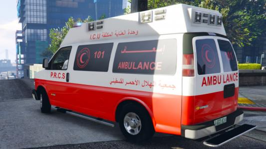 اصابة طفلة بجروح خطيرة في حادث سير بغزة