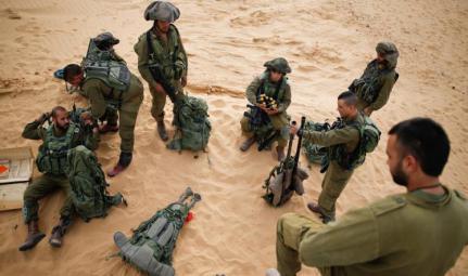 جيش الاحتلال ينفذ مناورات عسكرية بجنين