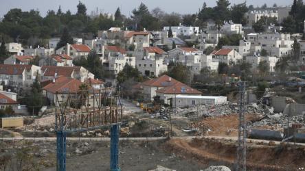 الخارجية الفلسطينية: الاحتلال يتمسك بالاستيطان اليهودي بديلا عن القانون الدولي